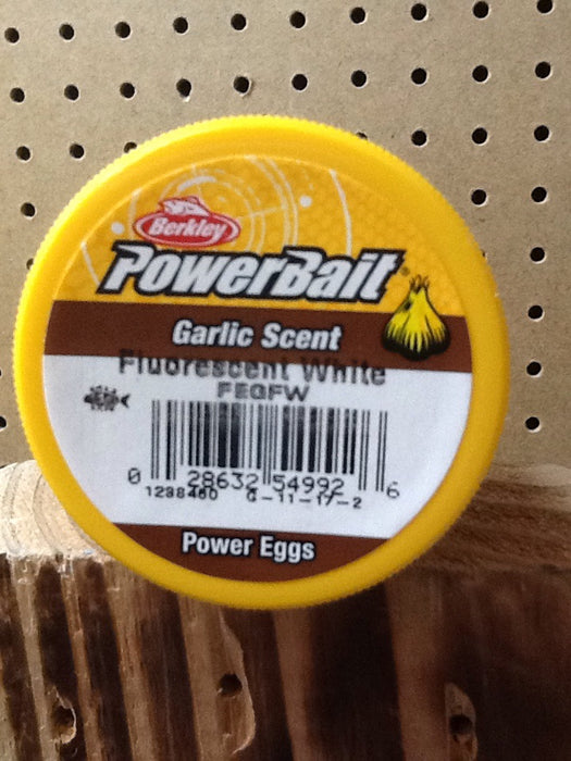 Berkley: Powerbait Magnum Floating Power Eggs (Fluorescent White)