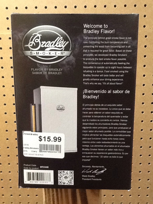 Bradley Smokers: Cherry Bisquettes (48 Pack)