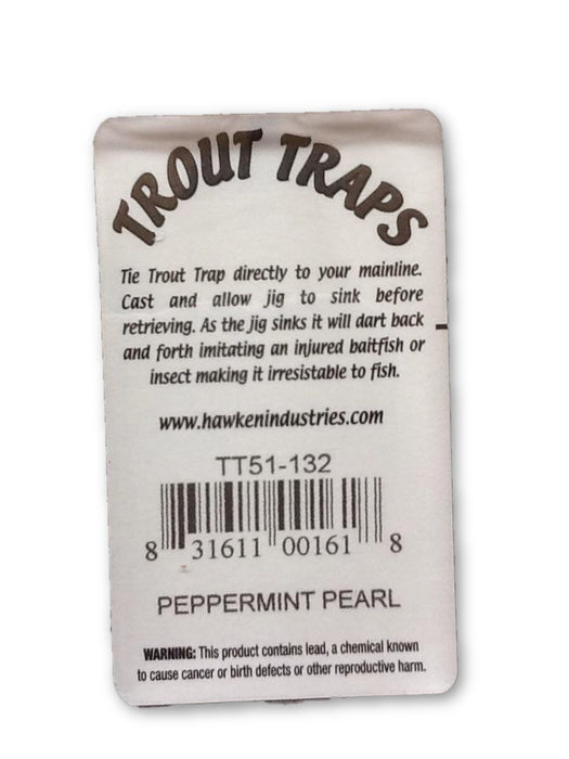 Aero: Trout Traps Mini-Tube Jigs 1/32 (Peppermint Pearl)