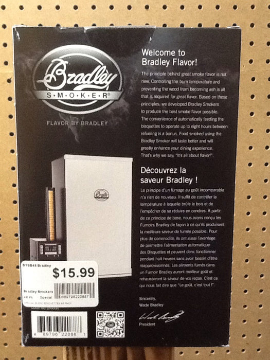 Bradley Smokers: Special Blend Bisquettes (48 Pack)
