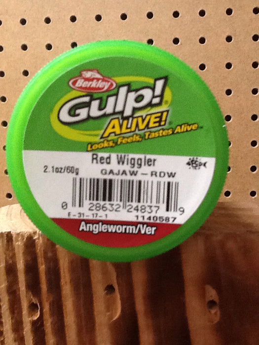 Berkley: Gulp! Alive! Angleworm/Ver (Red Wiggler)