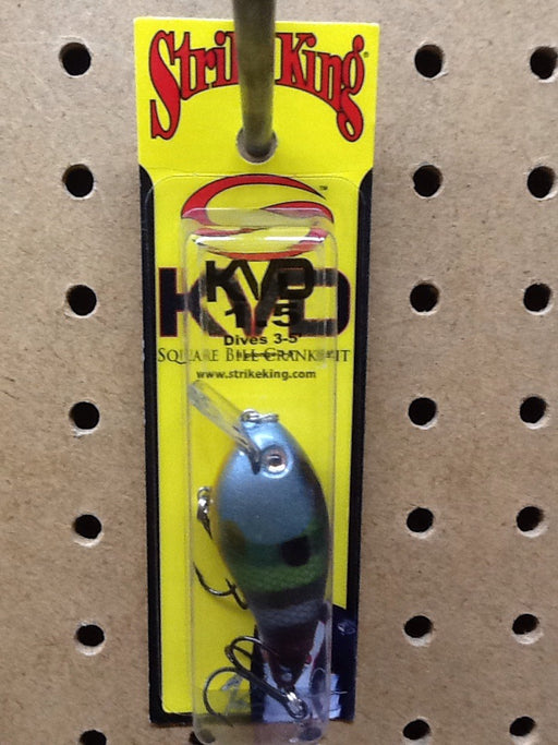 Strike King: KVD Square Bill Crankbait 1.5 (Neon Bluegill)