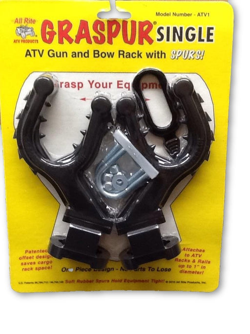All Rite: Graspur Single ATV Gun and Bow Rack with Spurs