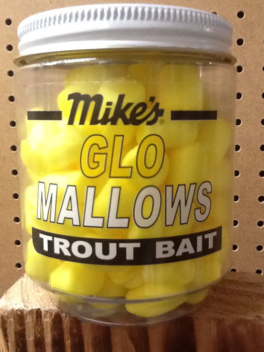 Atlas-Mike's: Glo Mallows Trout Bait (Yellow Cheese)