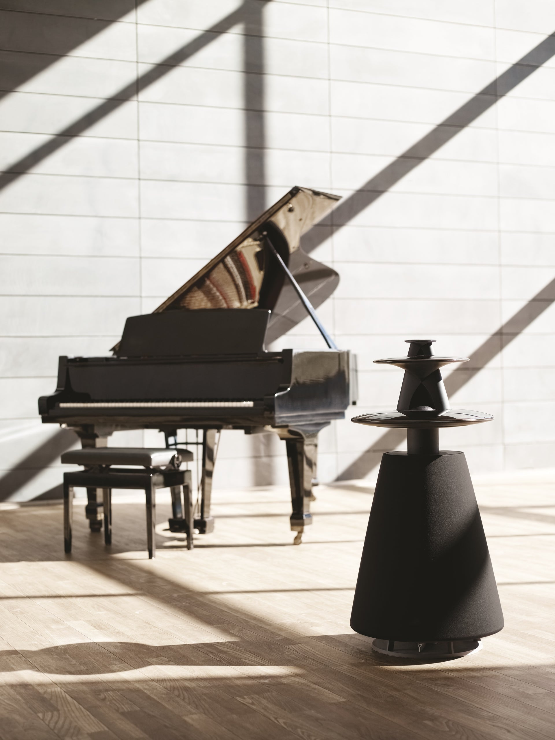Beolab 5 - state-of-the-art loud speaker delivering radical performance
