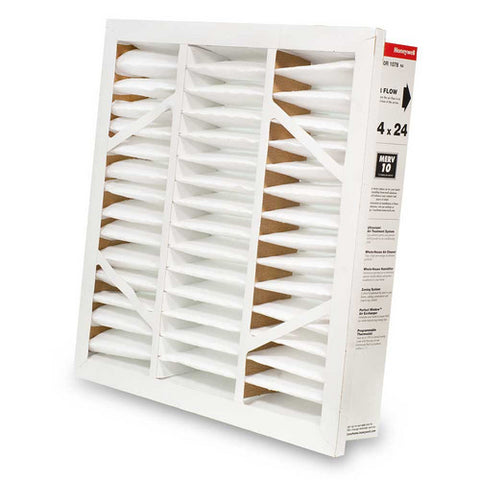24 x 24 Honeywell 4-inch Grill Mounted Media Filter