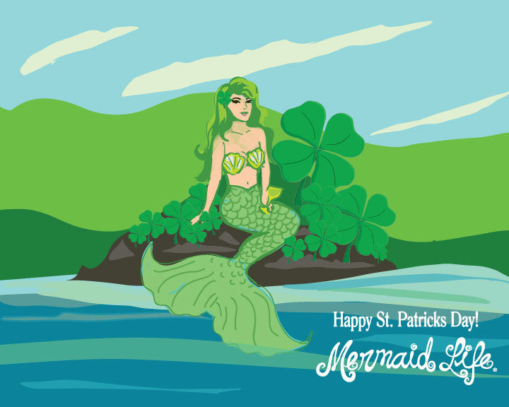 Mermaids of Myth - Saint Patrick's Day Edition