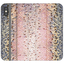 Load image into Gallery viewer, Pink Trout Vegan Fish Leather Phone WalletAccessories Womens Apparel Mermaid Life