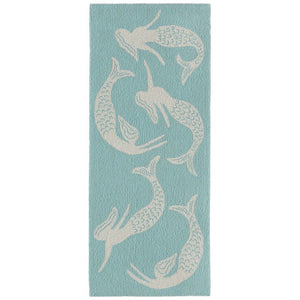 Swimming Mermaids Hand Tufted Indoor Outdoor Area RugsHome Womens Apparel Mermaid Life