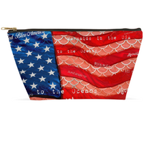 Load image into Gallery viewer, Made in the USA Patriot PouchesAccessories Womens Apparel Mermaid Life