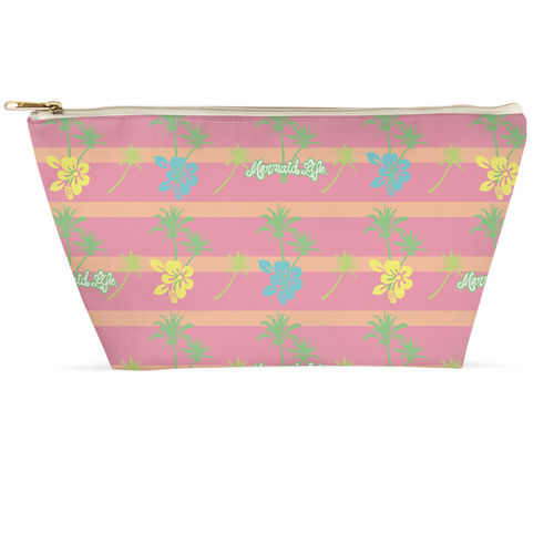 Palm Trees Make Up PouchBags Womens Apparel Mermaid Life