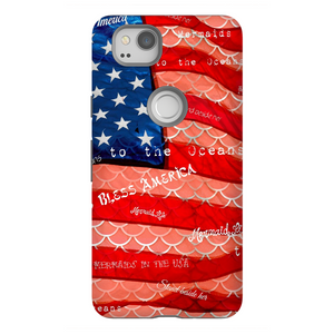 Patriot Scales Tough Case iPhone SamsungAccessories Womens Apparel Mermaid Life