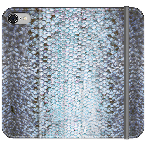 Blue Trout Vegan Fish Leather Phone WalletAccessories Womens Apparel Mermaid Life