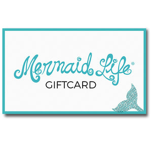 Mermaid Life Gift CardGift Card Womens Apparel Mermaid Life