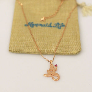 Mermaid at Heart NecklaceAccessories Womens Apparel Mermaid Life