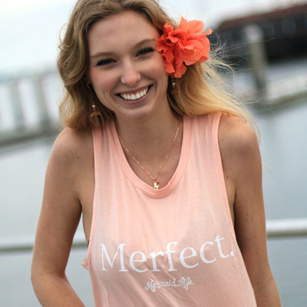 """Merfect"" Muscle Tank"