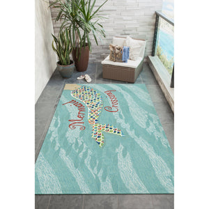 Mermaid Crossing Indoor Outdoor RugHome Womens Apparel Mermaid Life
