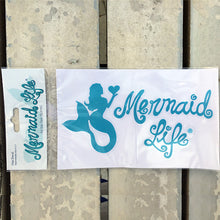 Load image into Gallery viewer, Mermaid at Heart Decal Blue - Mermaid Life
