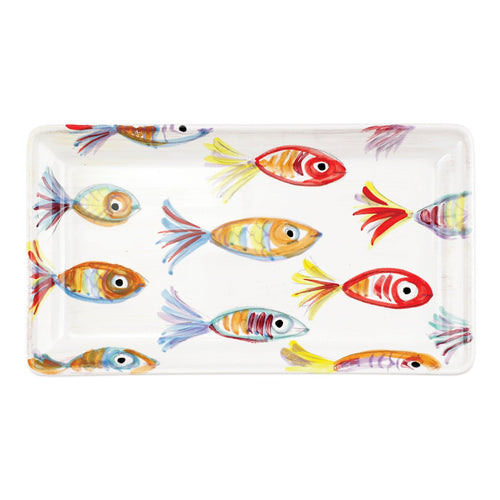 VIETRI Pesci Colorati Rectangular PlatterHome Womens Apparel Mermaid Life