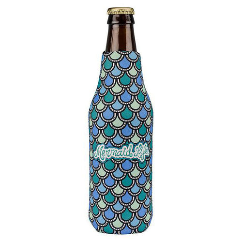 Mermaid Scales Bottle Koolie TealDrinkware Womens Apparel Mermaid Life