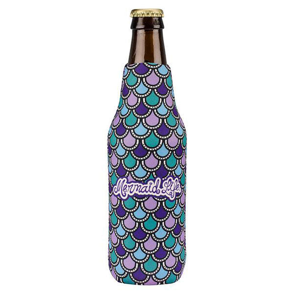 Mermaid Scales Bottle Koolie PurpleDrinkware Womens Apparel Mermaid Life