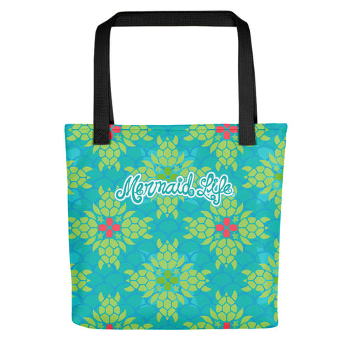 Sea Turtle Splendor Beach Bag SmallBags Womens Apparel Mermaid Life