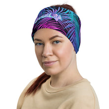 Load image into Gallery viewer, Tropics Sun Buff BlackAccessories Womens Apparel Mermaid Life