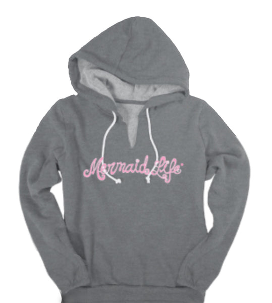 Mermaid Life® V Notch Hoodie