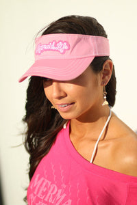 Mermaid Life Visor PinkHeadwear Womens Apparel Mermaid Life