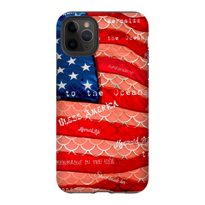 Patriot Scales Tough Case iPhone Samsung Womens Apparel Mermaid Life