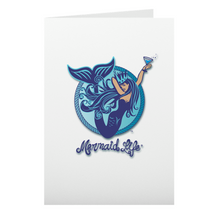 Load image into Gallery viewer, Aquatini Mermaid Note CardsHome Womens Apparel Mermaid Life