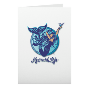 Aquatini Mermaid Note CardsHome Womens Apparel Mermaid Life
