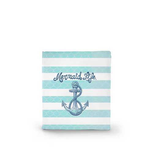 Mermaid Life Anchor Insulated Lunch Bag