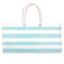 Load image into Gallery viewer, Nautical Mermaid Life Beach BagBags Womens Apparel Mermaid Life
