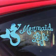 Load image into Gallery viewer, Decals Womens Coastal Apparel Mermaid Life