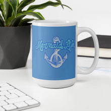 Load image into Gallery viewer, Mermaid Life Nautical Anchor Mug - Mermaid Life