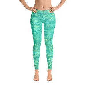 Women's Lagoon Performance LeggingsApparel Womens Apparel Mermaid Life