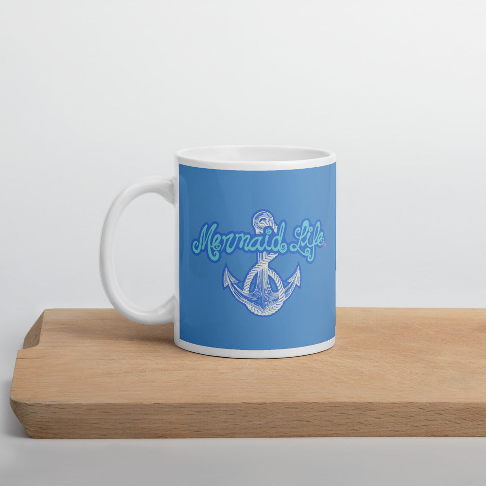 Mermaid Life Nautical Anchor Mug - Mermaid Life