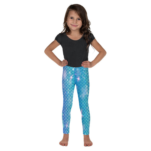 Kid's Mermaid Scale Leggings 2T-7Mermaid Life® Girl Womens Apparel Mermaid Life