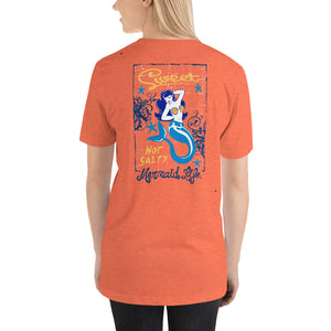 Sweet Not Salty Mermaid Full Back T-ShirtApparel Womens Apparel Mermaid Life