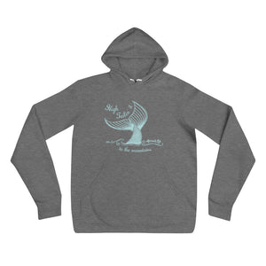 High Tail it to the Mountains Mermaid HoodieApparel Womens Apparel Mermaid Life
