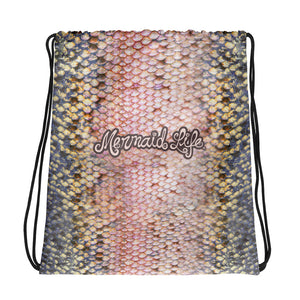 Pink Trout SackpackBags Womens Apparel Mermaid Life