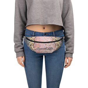 Pink Trout Scales Fanny Pack PurseBags Womens Apparel Mermaid Life