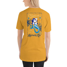 Load image into Gallery viewer, Sweet Not Salty Mermaid Full Back T-ShirtApparel Womens Apparel Mermaid Life