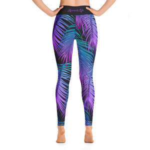 Leggings Tropics BlackPerformance Womens Apparel Mermaid Life