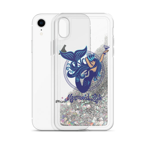 Aquatini Mermaid Glitter iPhone CaseAccessories Womens Apparel Mermaid Life