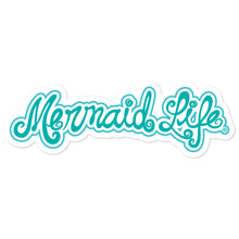 Load image into Gallery viewer, Mermaid Life Vinyl sticker BlueDecals Womens Apparel Mermaid Life
