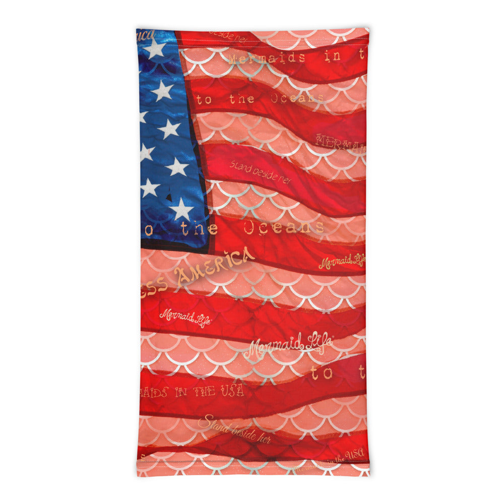 Patriot Mermaid Scales Sun Buff - Mermaid Life