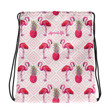 Load image into Gallery viewer, Palm Beach Flamingo Sackpack - Mermaid Life
