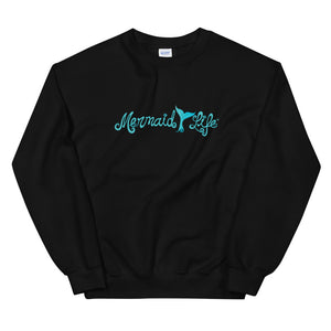 Mermaid Life Tail Unisex SweatshirtApparel Womens Apparel Mermaid Life